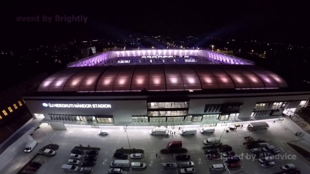 Fűtés, hűtés, víz-csatorna szerelés a Hidegkúti Nándor (MTK) Stadionban