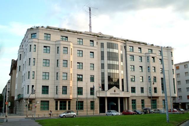 Külügyminisztérium Bem rakpart épülete 2017.