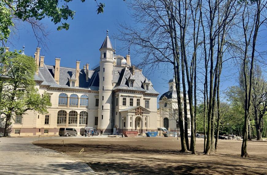 Turai kastély rekonstrukció 2018.